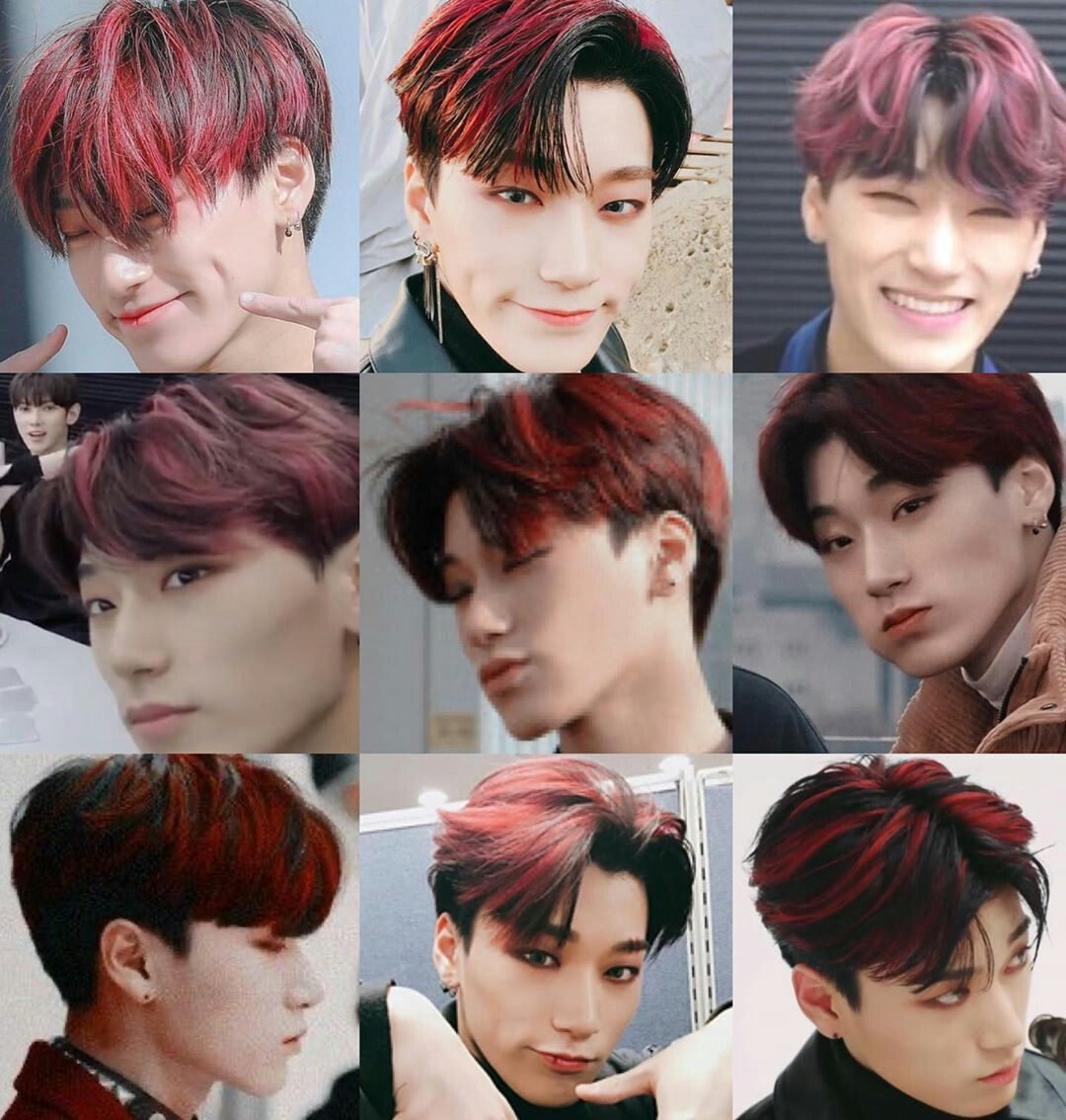 In Conclusion San Suits Every Hair Color He Has Follow Smol San For More Ateez Eightmakesoneteam 8makes1 Kpop Hair Kpop Hair Color Hair Color