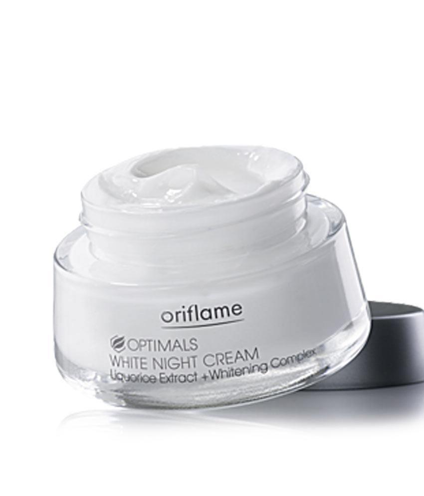 Original Oriflame OptimalS WHITE NIGHT CREAM (All Skin Types