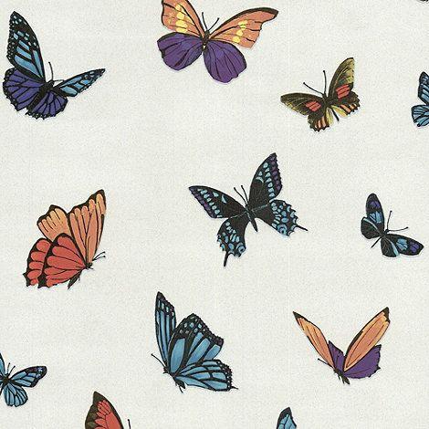 Julien Macdonald Wallpaper Pearl Flutterby Wallpaper- at ...