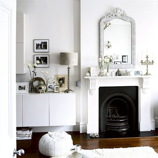 Elegant Victorian Terrace House Tour Ideal Home Living Room White White Rooms Home