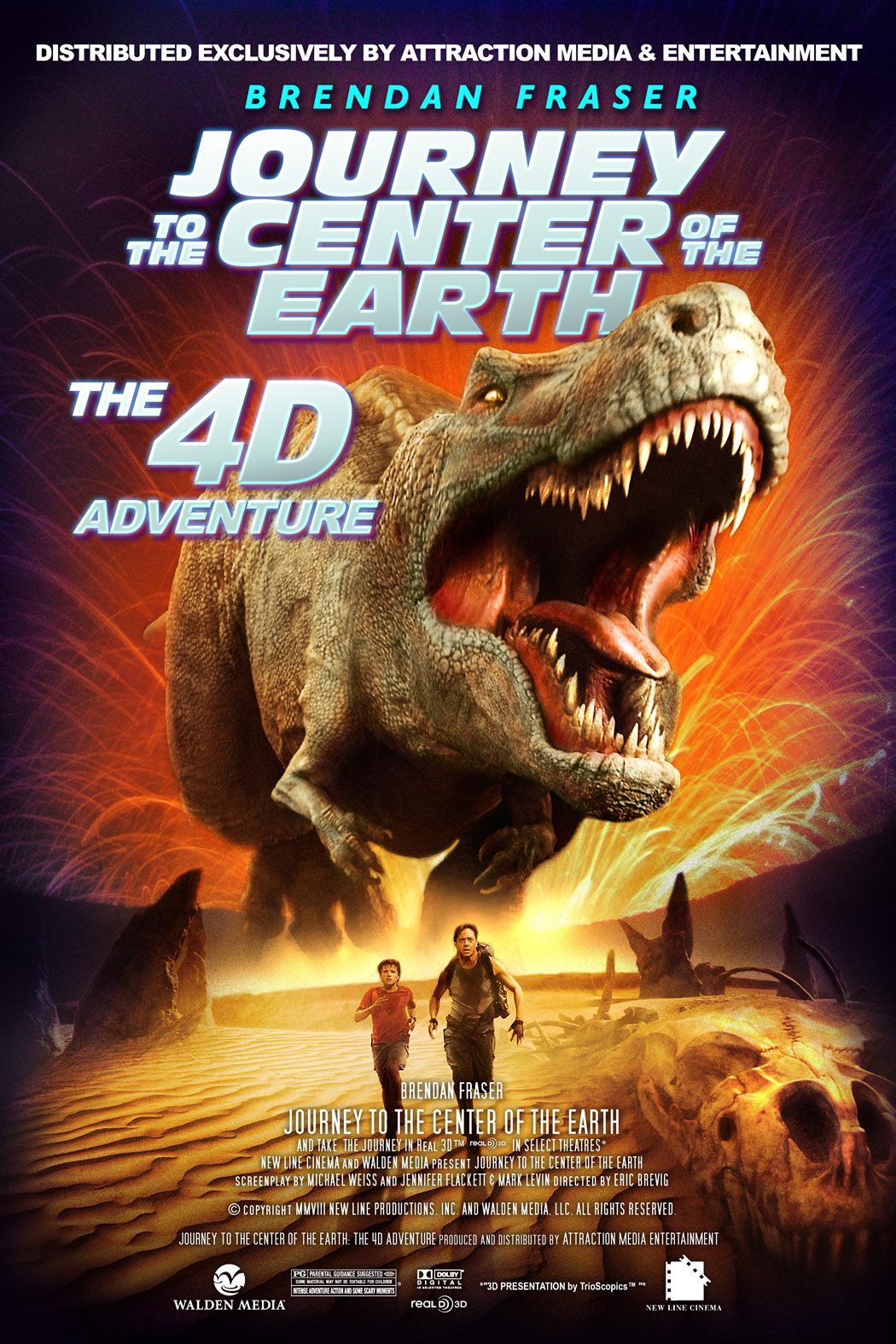 #Journey to the Center of the Earth #4d attraction film # ...