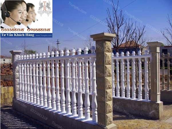 Mẫu hàng rào đẹp được yêu thích năm 2017 tại Đ/c: Đường Tĩnh Tuệ - Phường Ninh Dương - TP.Móng Cái - T.Quảng Ninh, DĐ: 0965-881318 01299-881318