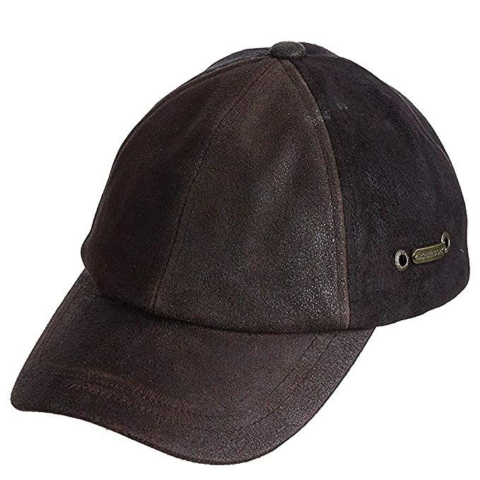 a0f8e0f34186 Stetson Men s Weathered Leather Ball Cap Review