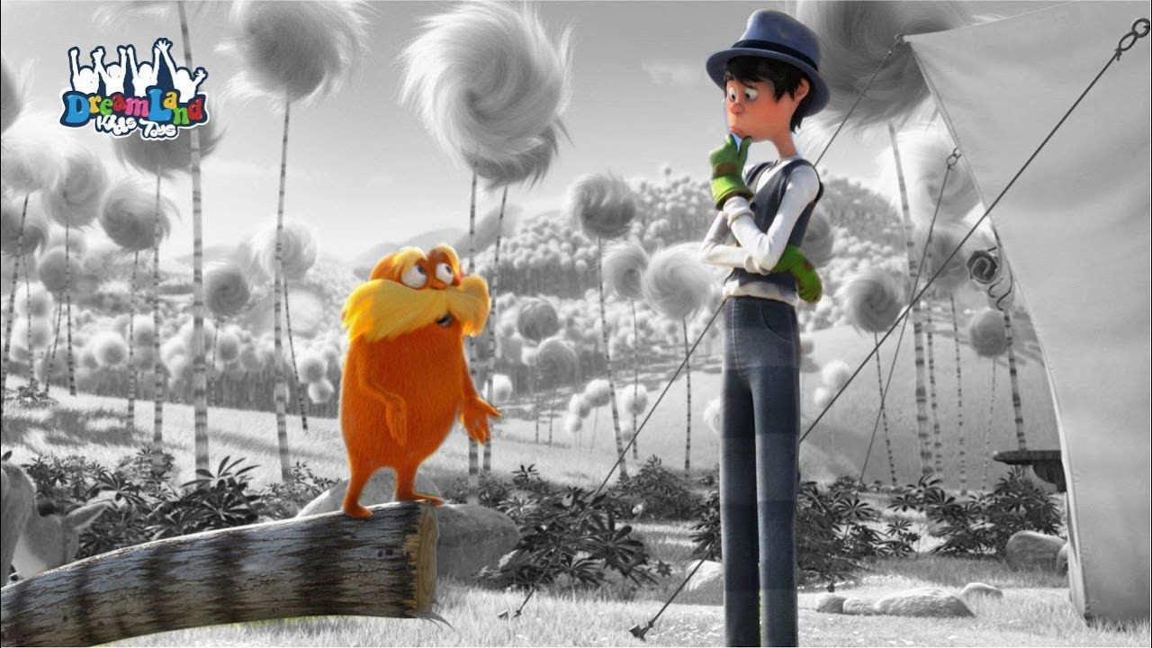 The Lorax Coloring Page Once Ler The Lorax Online Games For