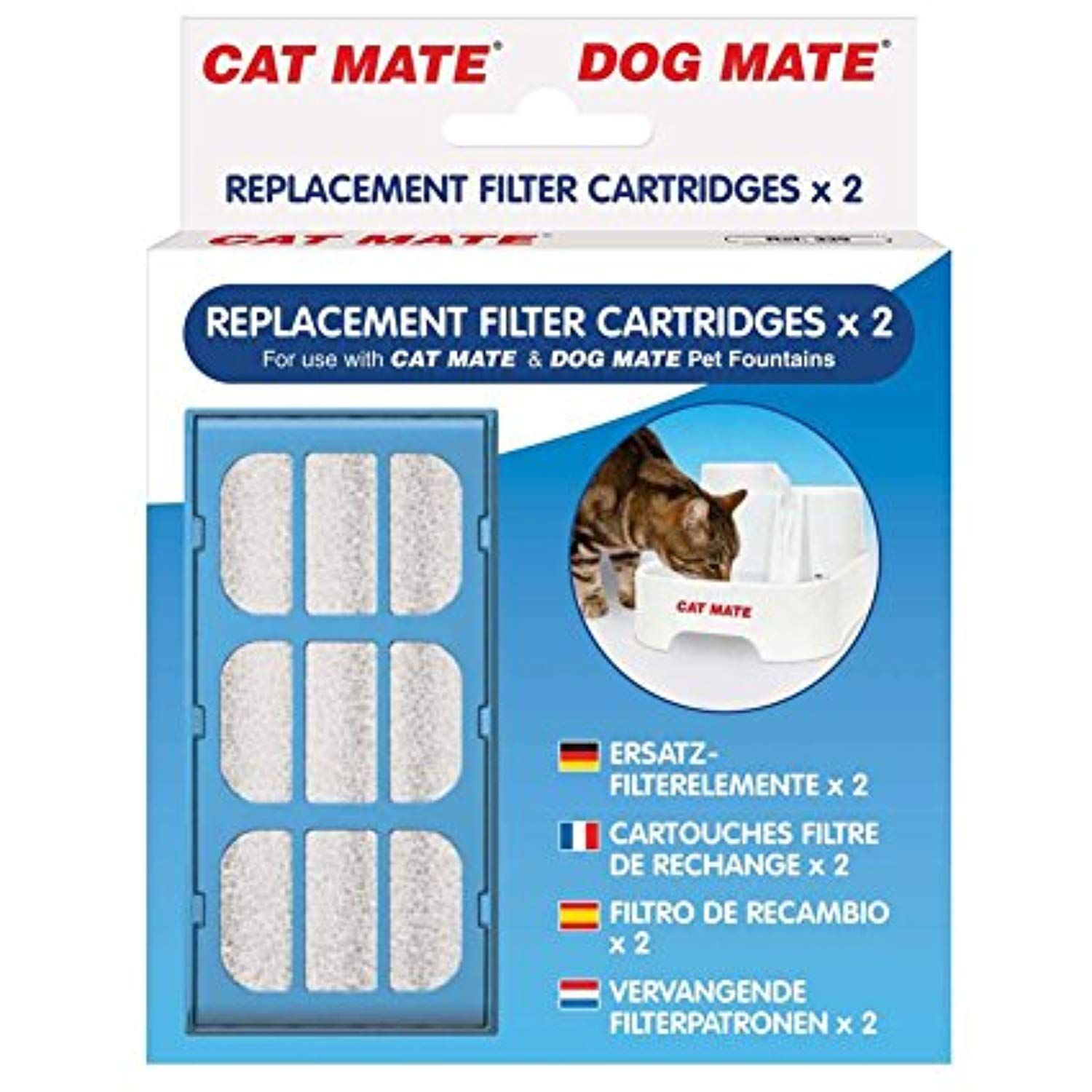 Cat Mate Replacement Filter Cartridges 6Count For more
