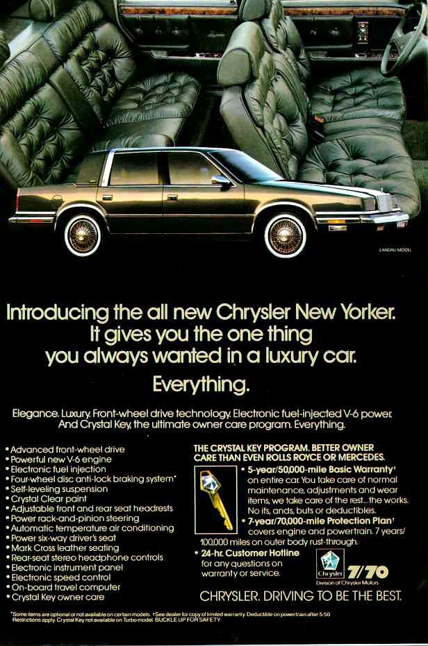 Directory Index Chrysler Imperial 1988 Chrysler Chrysler New Yorker Chrysler Cars Chrysler