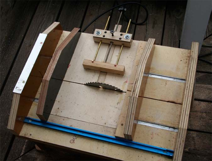 Home Made Table Saw For Pen Making   International Association Of Penturners