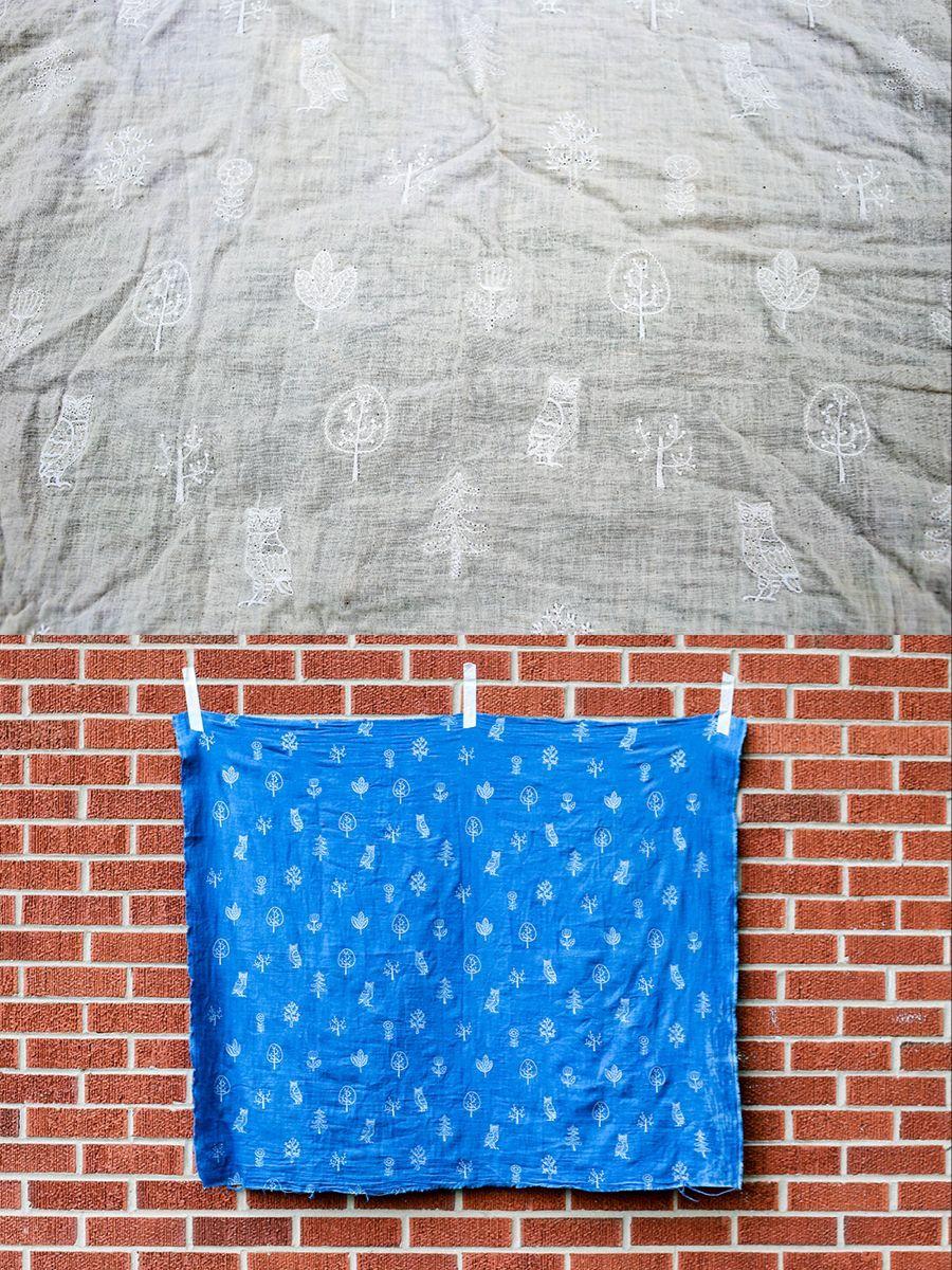 DIY Shibori Indigo Dyeing Tutorial #dyeingtutorials In Color Order: DIY Shibori Indigo Dyeing Tutorial #dyeingtutorials