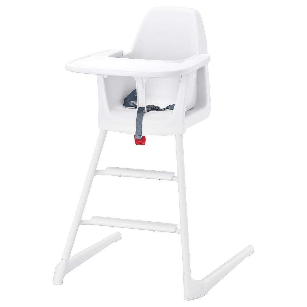 LANGUR High chair with tray white High chair, Chair, Ikea