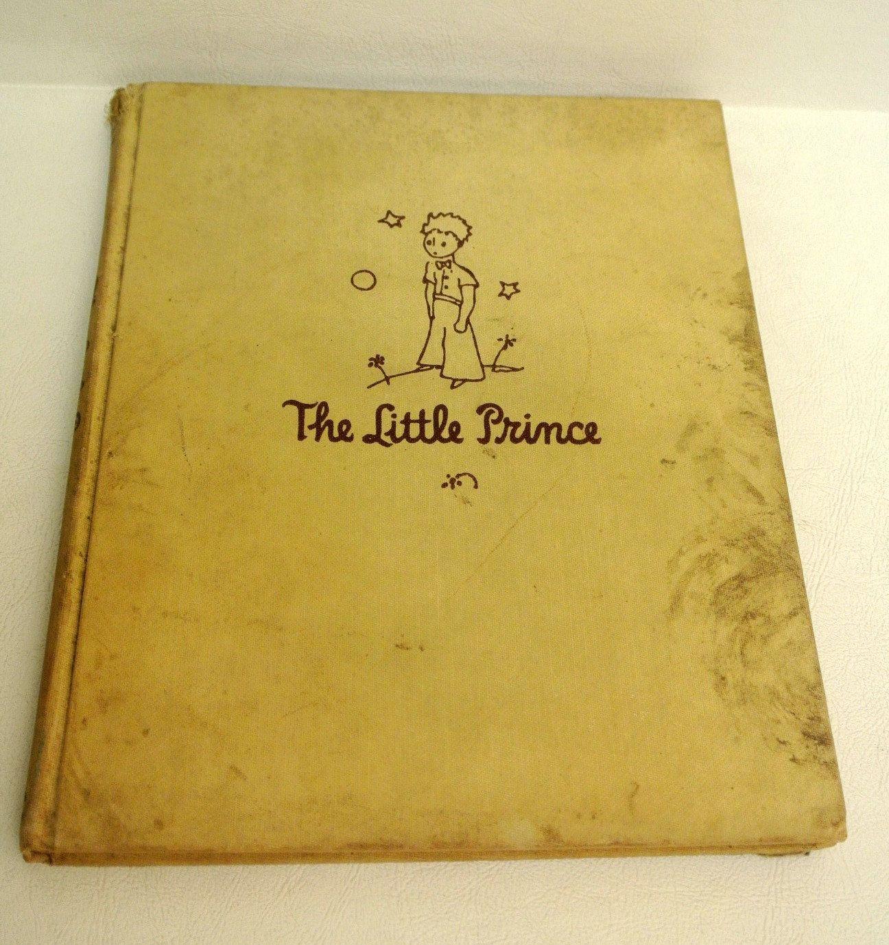 Vintage Original Children 39 S Book The Little Prince By Antoine De Saint Exupery Collectibles The Little Prince Forever Book Little Prince Tattoo