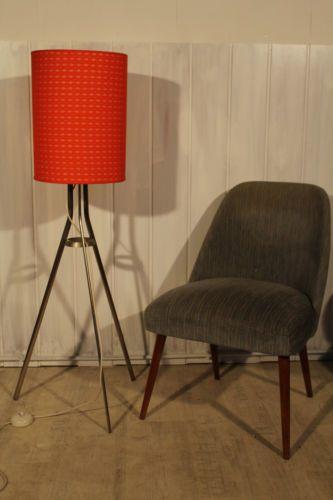 Mid Century Modern Tripod Stehleuchte Lampe !! Vintage Retro