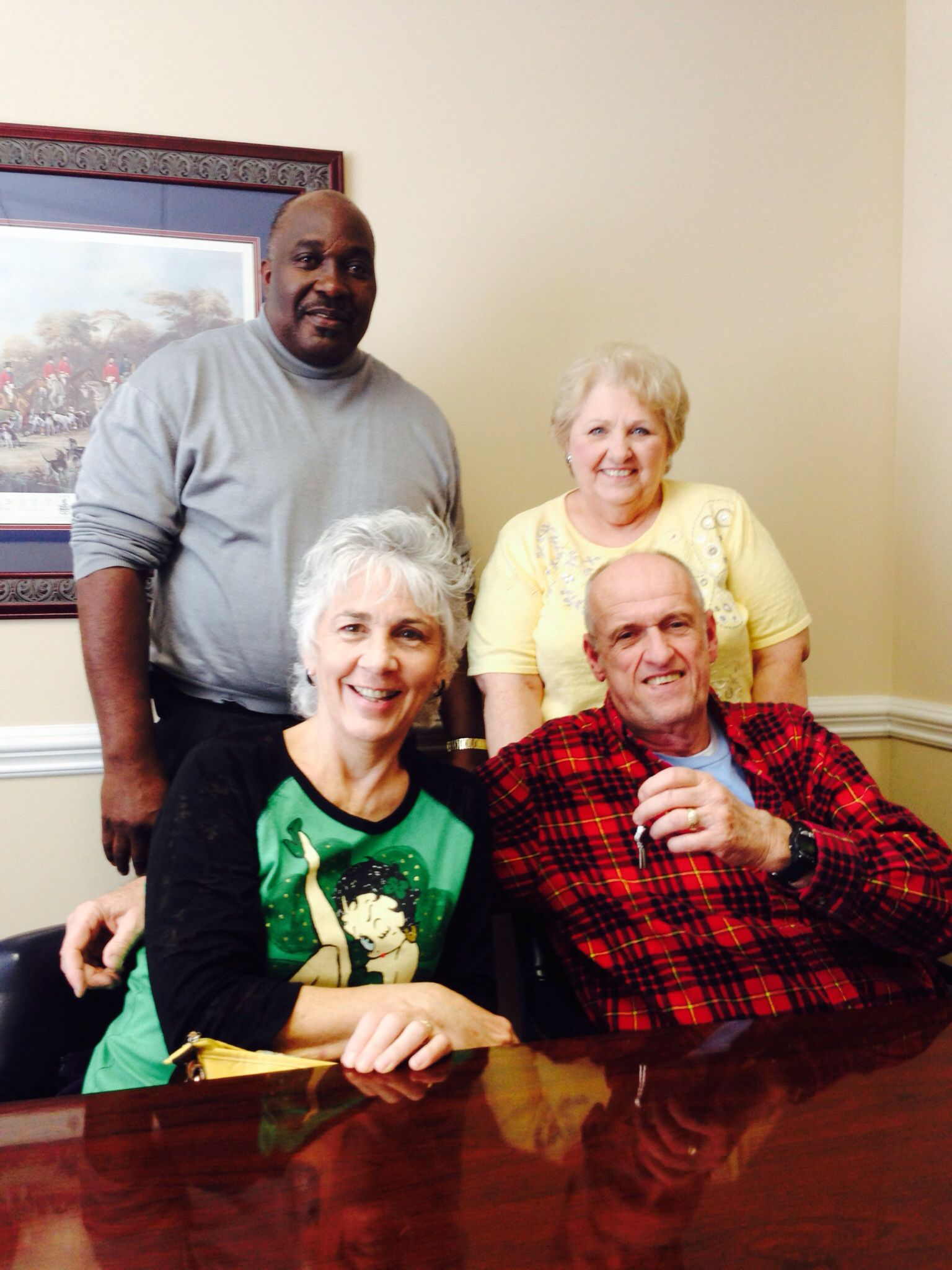 Mr. and Mrs. Krinock close on their second home with Margaret Williams of Red Door Realty! Great day!!
