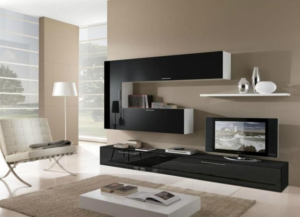 Living Room Tv Furniture Stand A Change The Plain Look With Modern Chairs  For Living Room Sleek Chair With Glossy Black Living Room Tv Furniture  Design