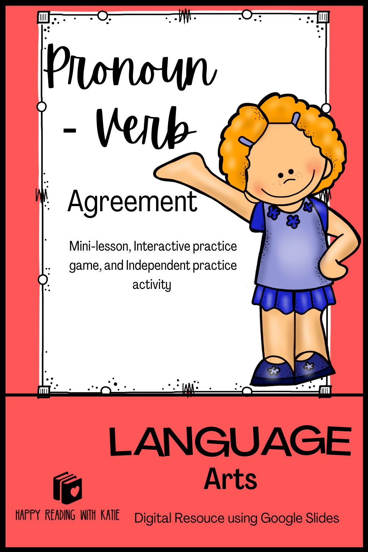 Pronoun Verb Agreement Mini Lesson Game Mini Lessons Verb Lesson [ 1500 x 1000 Pixel ]