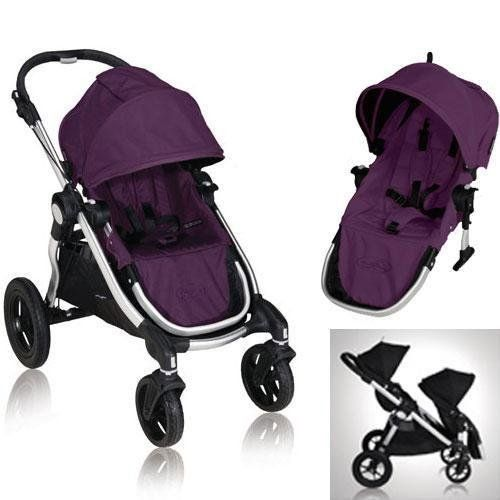 Baby Jogger City Select 2013 With FREE Second Seat Kit Amethyst Check Out