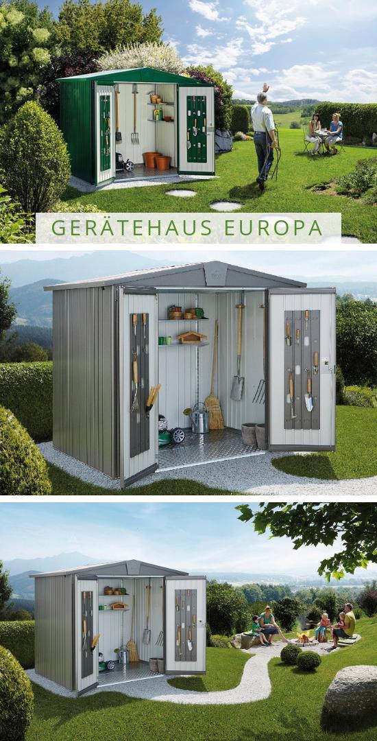 Biohort Geratehaus Europa Haus Biohort Gartengerate