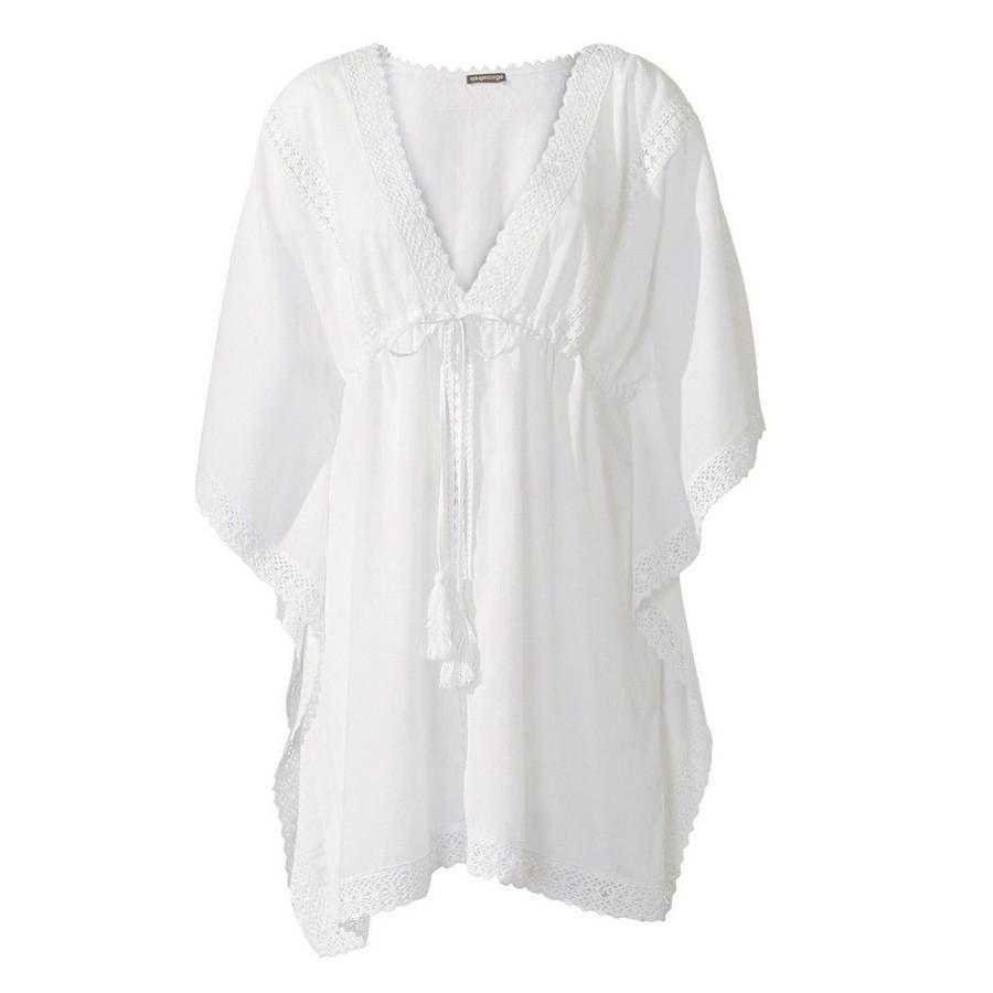 robe de plage blanche rouge gorge 50 robes de plage qui ensoleillent notre t robes de. Black Bedroom Furniture Sets. Home Design Ideas