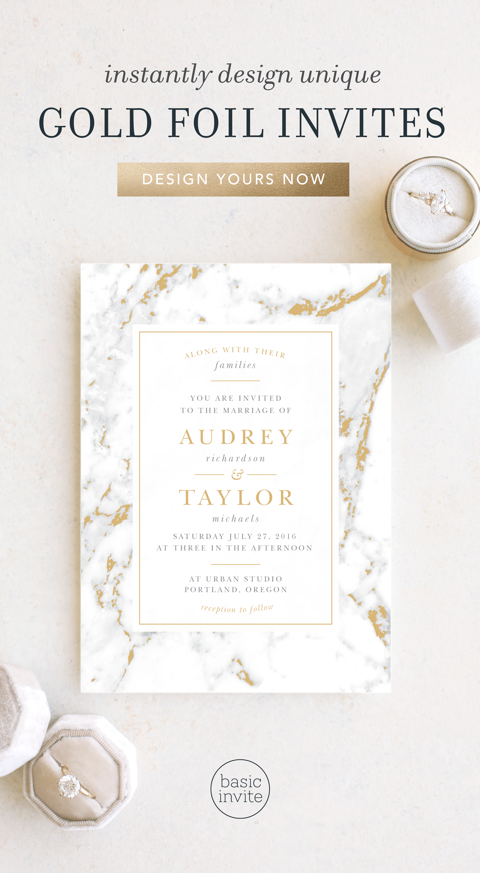 Make Your Wedding Invitations Shimmer