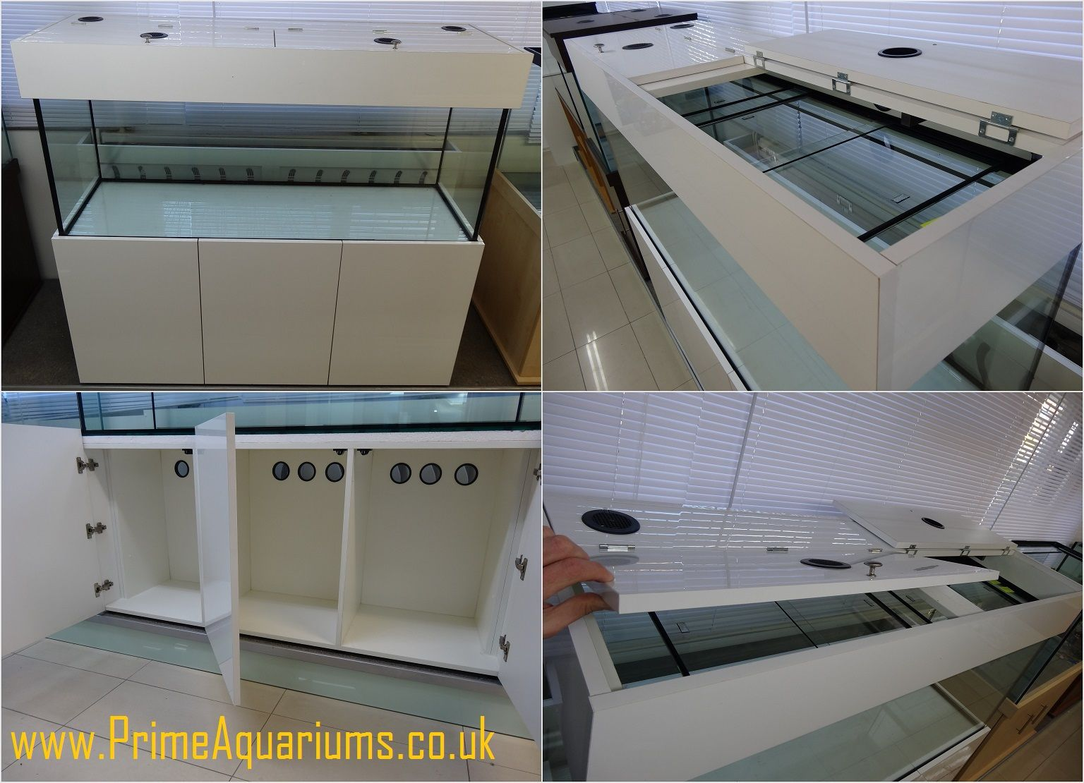 Cabinet aquarium fish tank tropical - High Gloss Acrylic Finish Aquarium Cabinets And Hoods Manufactured Here In The Uk For Full