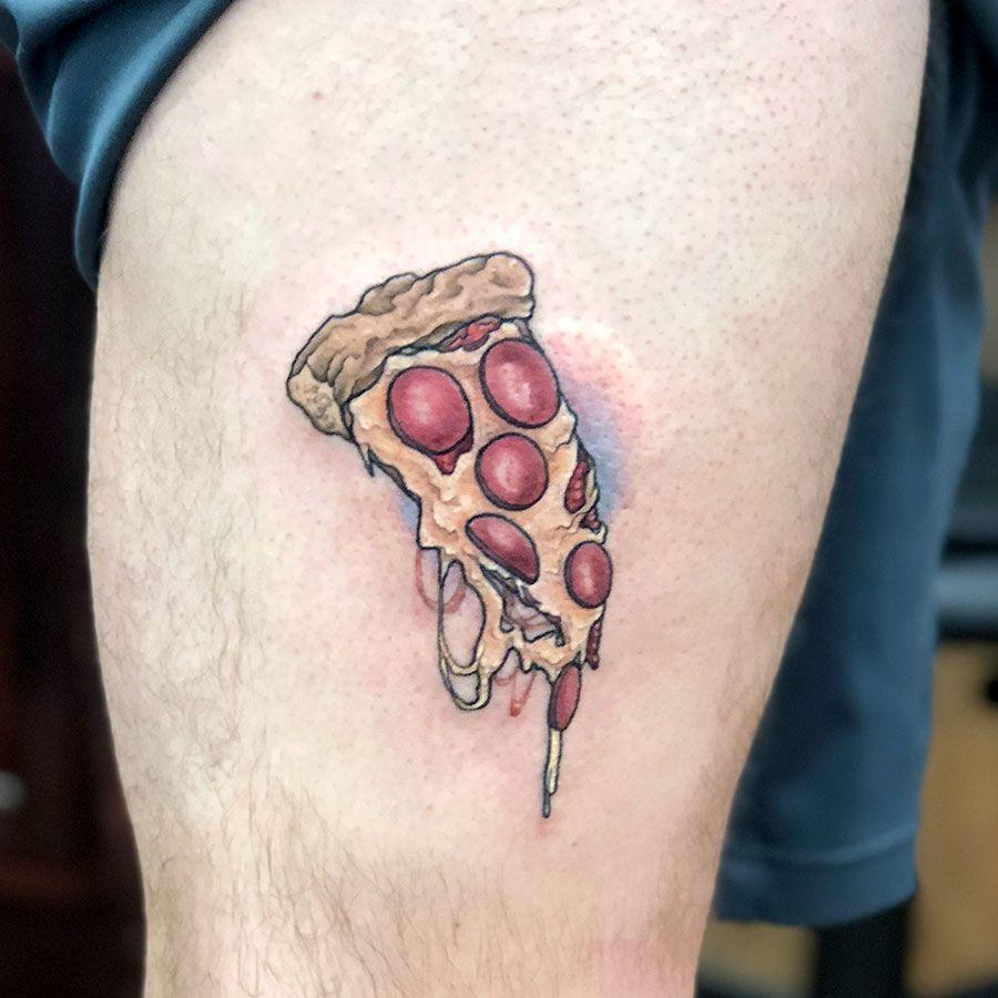 Tattoo pizza Discover pizza