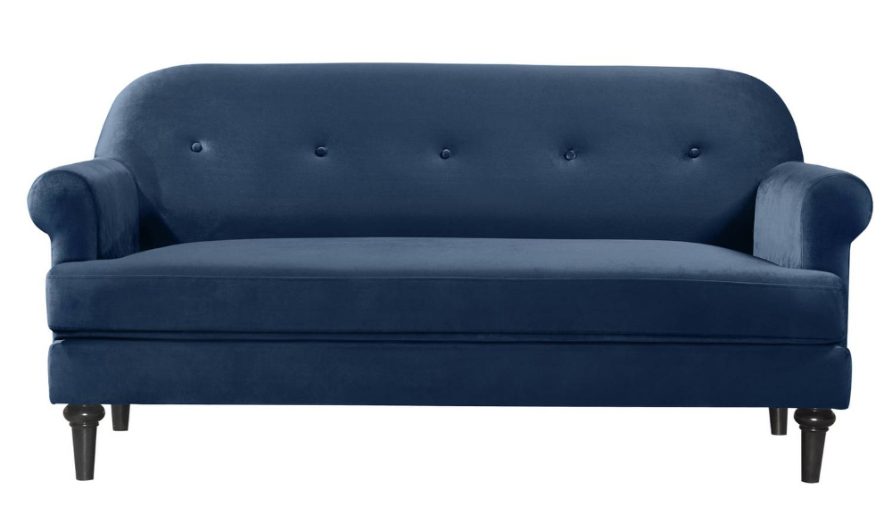 Buy Argos Home Whitney 3 Seater Velvet Sofa Charcoal Sofas
