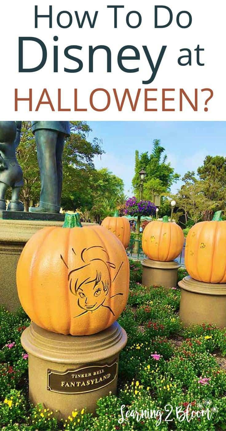 What To Expect During A Halloween Cruise With Carnival: Disneyland At Halloween Time 2019