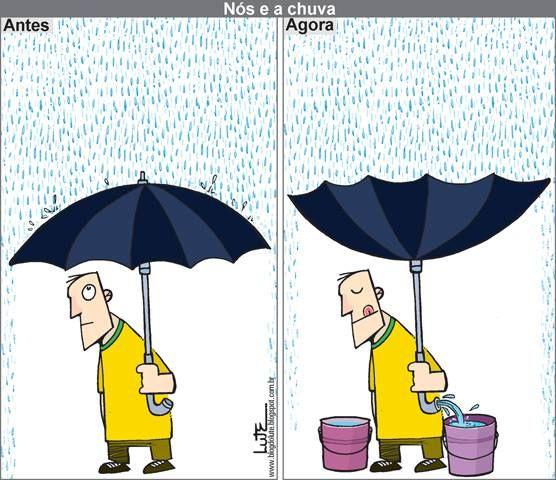 Buscando soluções... Nós e a chuva(se e quando chover!!!!)