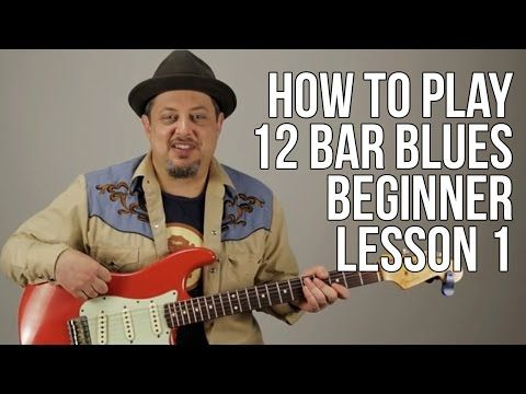 Guitar Lesson: How To Play Old School 12 Bar Blues EASY PART 1 ...