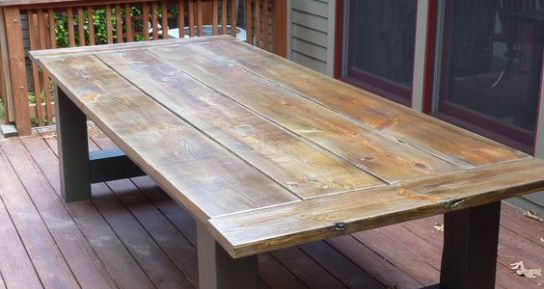 How To Build A Outdoor Dining Table – A Website For All The Ideas You Will Ever Need