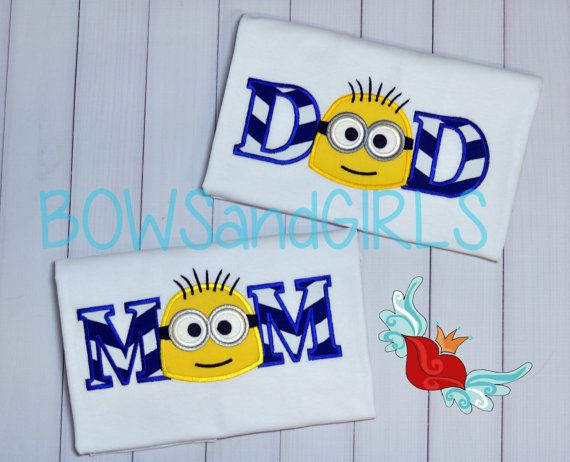 Minion Birthday Shirt Number Applique T By Bowsandgirls
