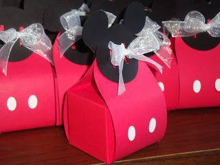 Dulceros De Mickey Mouse Para Fiestas Infantiles Festas Pinterest