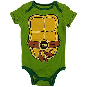 Teenage Mutant Ninja Turtles Newborn Boy Short Sleeve Bodysuit