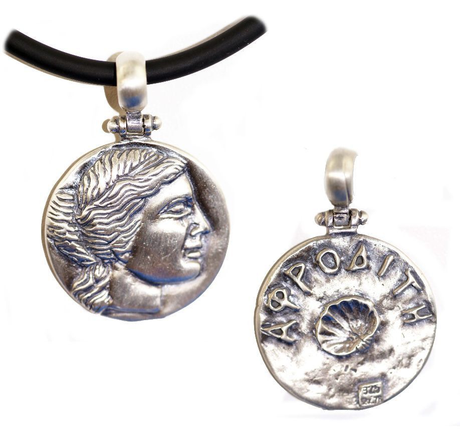 original com pendant by mini black gold necklace blackandsigi notonthehighstreet sigi aphrodite and product