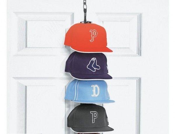 Perfect Curve Cap Rack Petagadget Diy Hat Rack Baseball Hat Racks Cap Rack