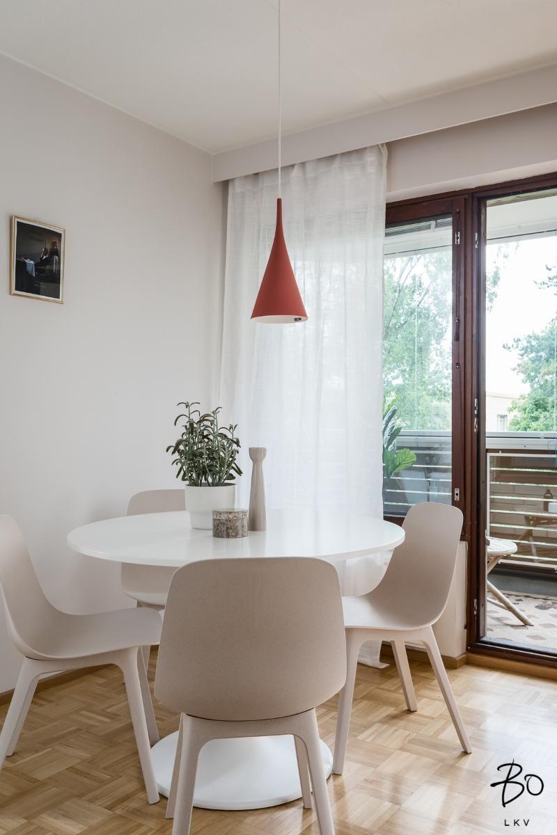 IKEA INGATORP Black Extendable table | Small living room ...