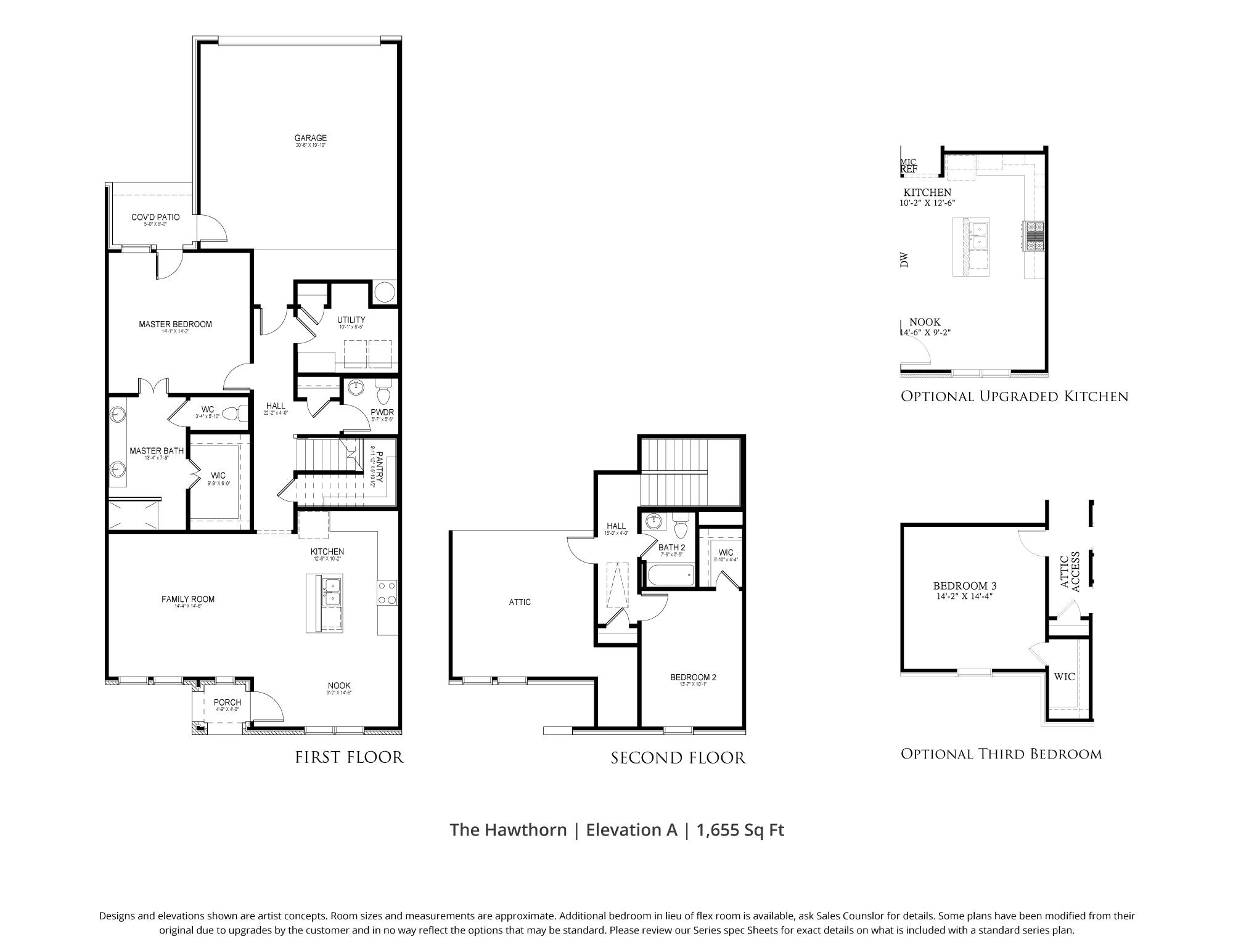 Hawthorn Townhome Floor Plan In Dfw Our Country Homes Floor Plans How To Plan Townhouse