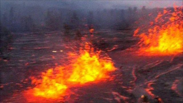 Kilauea Volcano Eruption | The Kilauea Volcano eruption