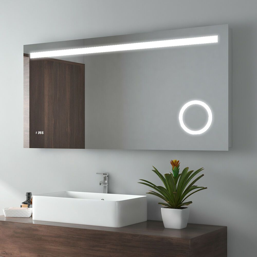 Led Bathroom Mirror Bluetooth Speaker Touch Sensor Switch Rectangular Make Up Uk Ebay Bathroom Led Make Up Mirror Blu In 2020 With Images Bathroom Mirror Led Mirror Bathroom