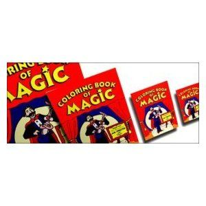 Magic Coloring Book Trick Extra Large 10 5 X 14 A Coloring Book Is Shown To Have All Blank Pages With A Little Magic Coloring Books Magic The Magicians