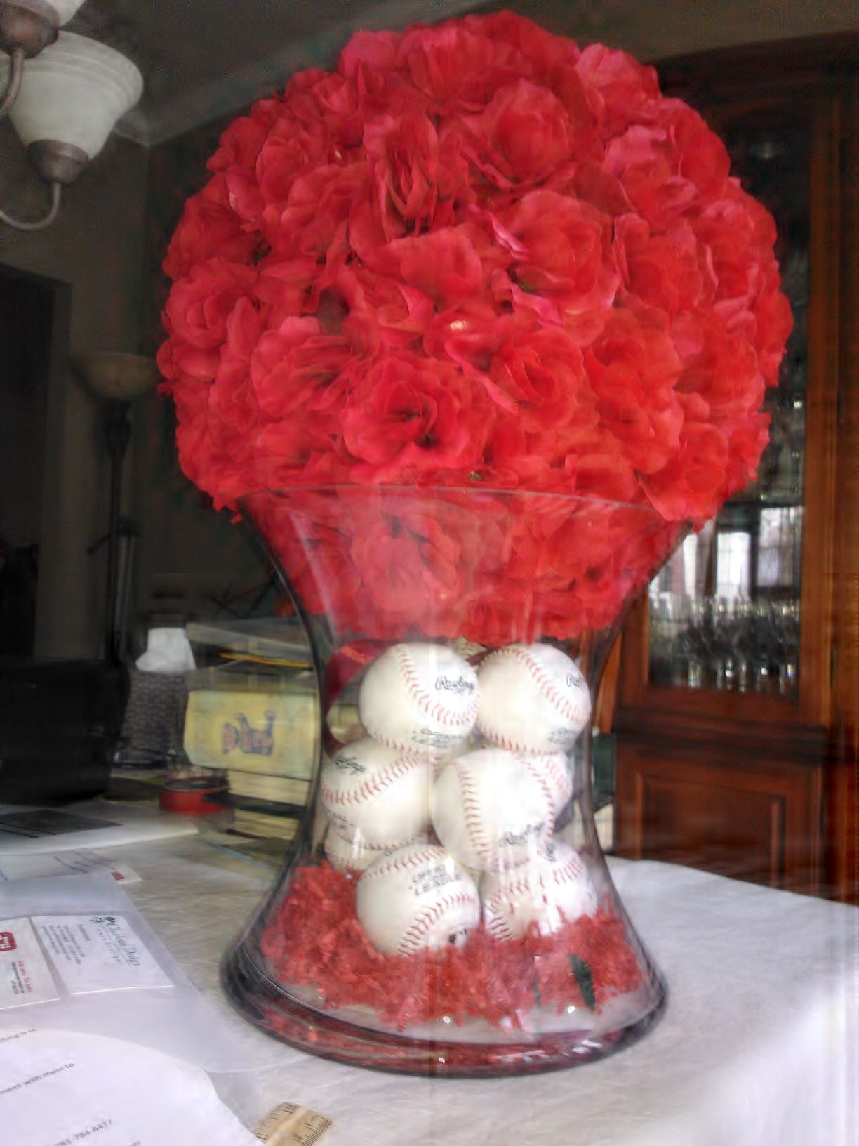 Was not thrilled about having to do 2 bimah flower arrangements that was not thrilled about having to do 2 bimah flower arrangements that were going to cost a lot of money decided to dyi bought 15 silk flower ball mightylinksfo Images