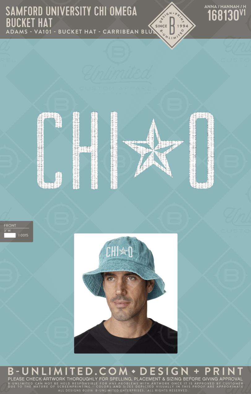 8ff93e7d47a21 Chi Omega Bucket Hat! #BUonYOU #greek #greektshirts #greekshirts #sorority  #sororityshirt #ChiO #ChiOmega