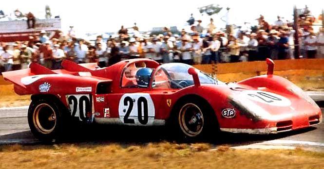 Ferrari 512 S 12 Ore Di Sebring 1970 Rennwagen Rennen Nostalgie