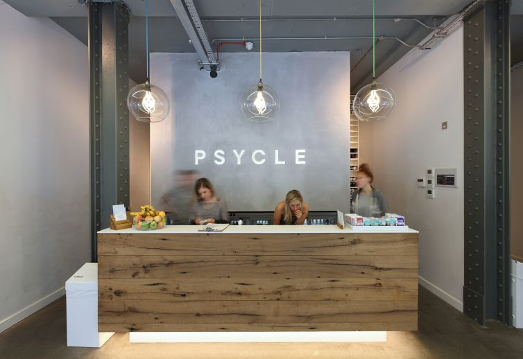 Psycle London a new industrial feel gym in the centre of london