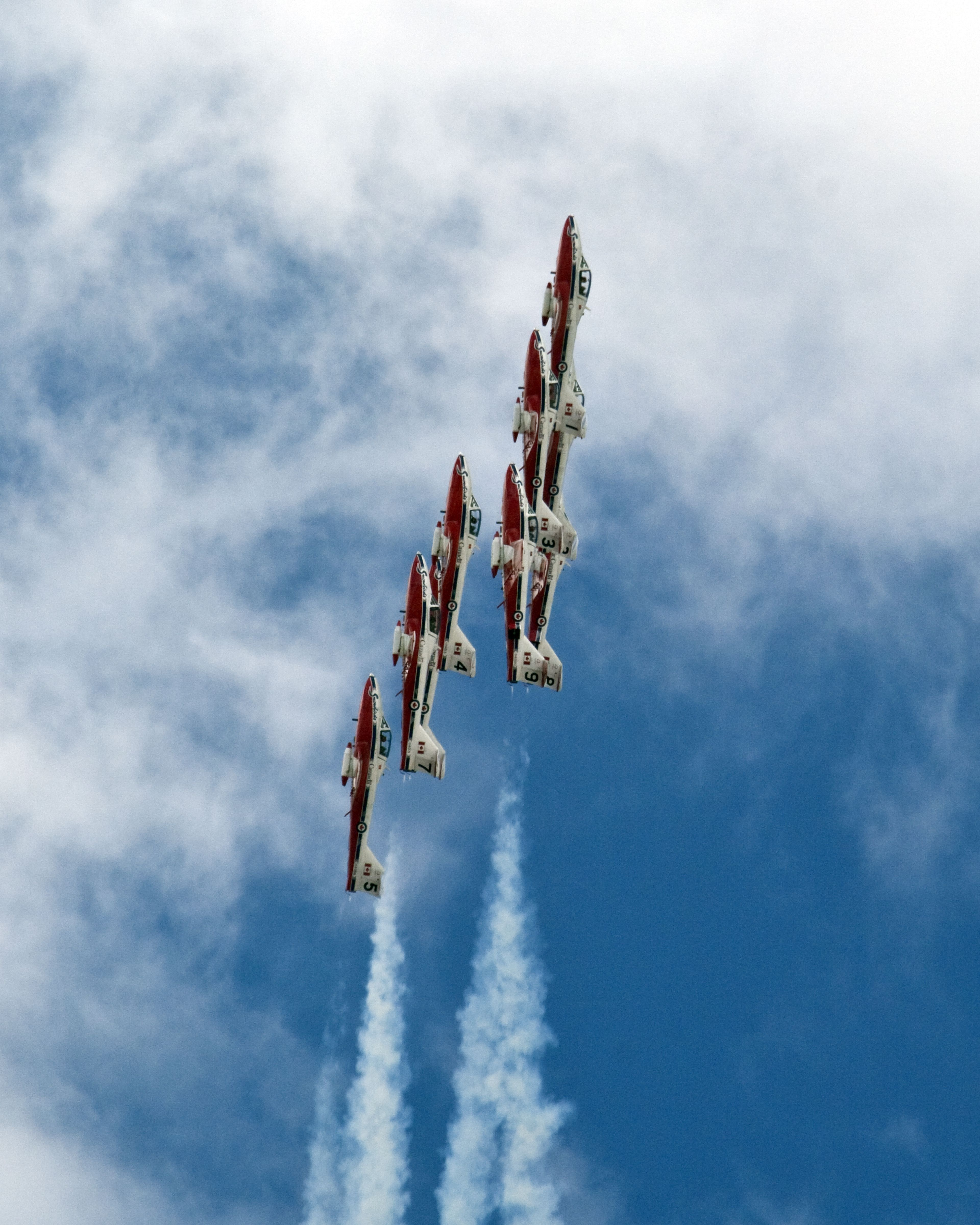 Canadian Snowbirds, eh. Canadian military, Canadian