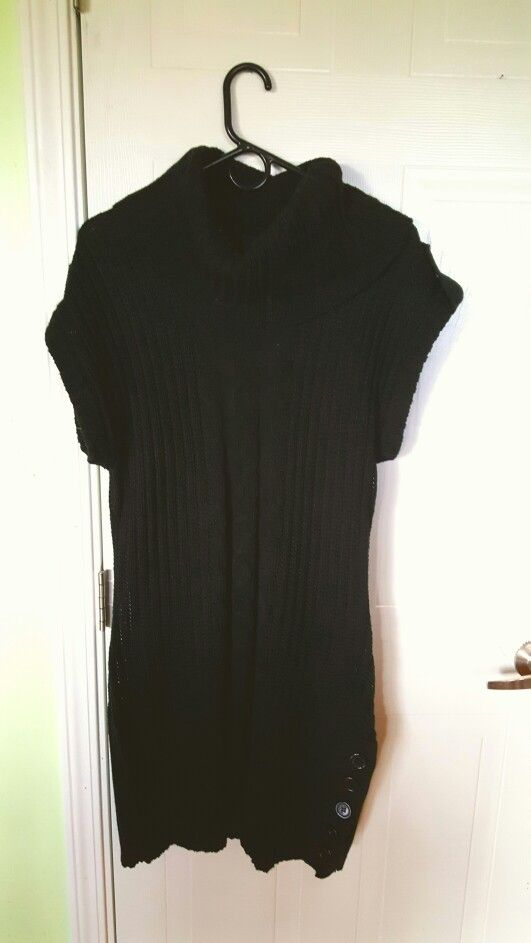 Sleeveless sweater dress size xl, $20