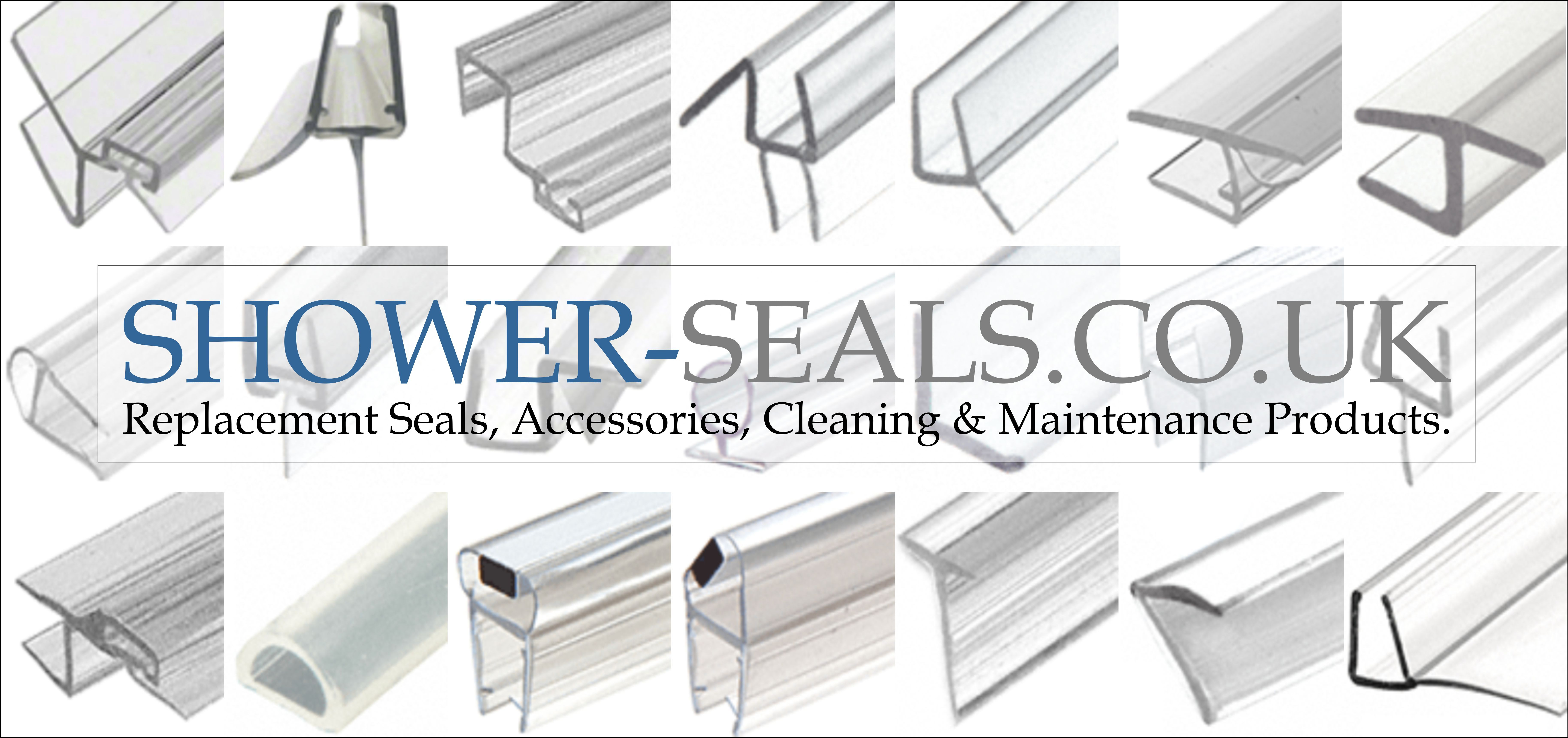 Glass Shower Door Fixed Screen Seals Thresholds Available For