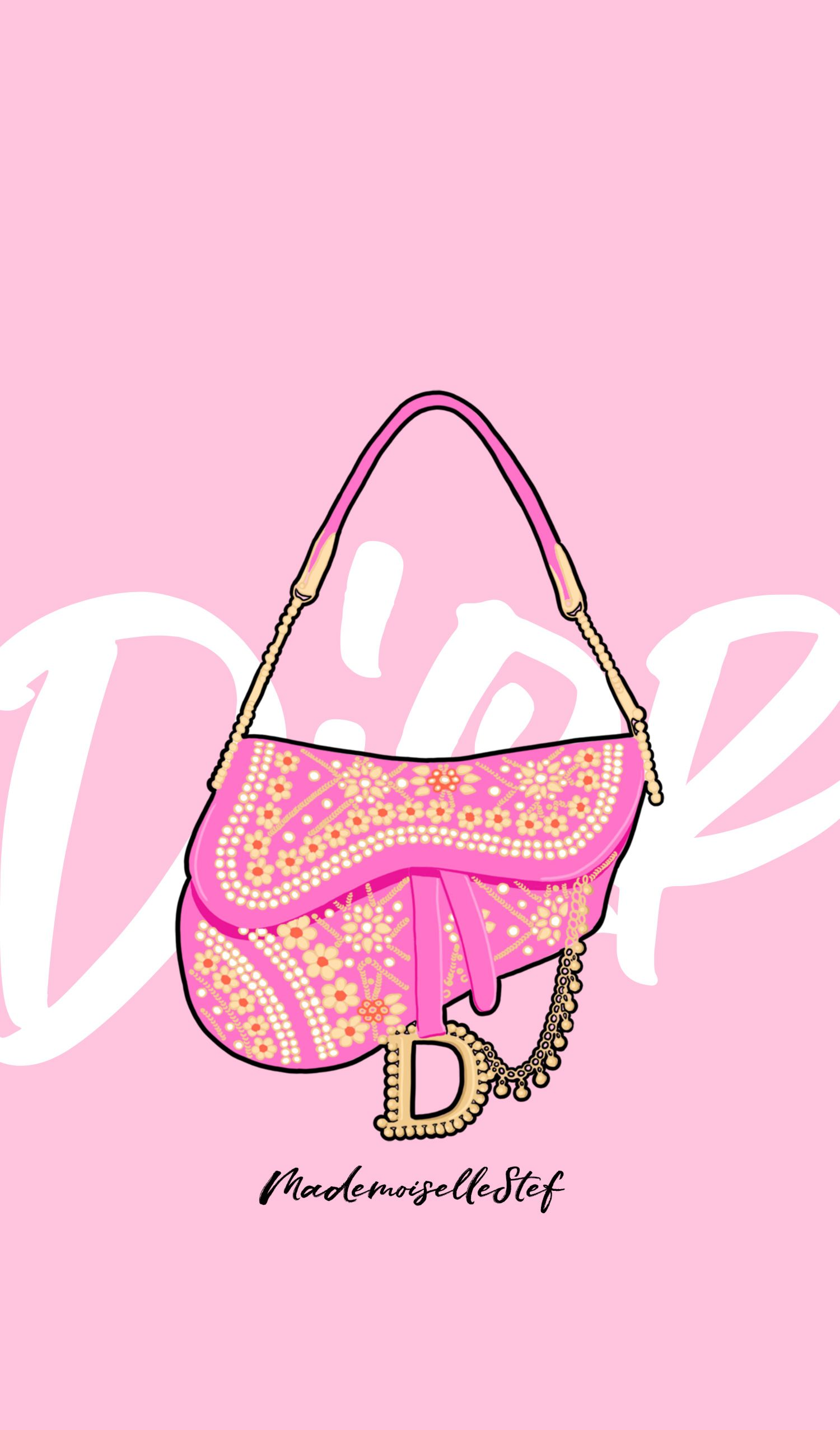 Wallpaper Dior saddle bag I fond d'écran Dior I Dior