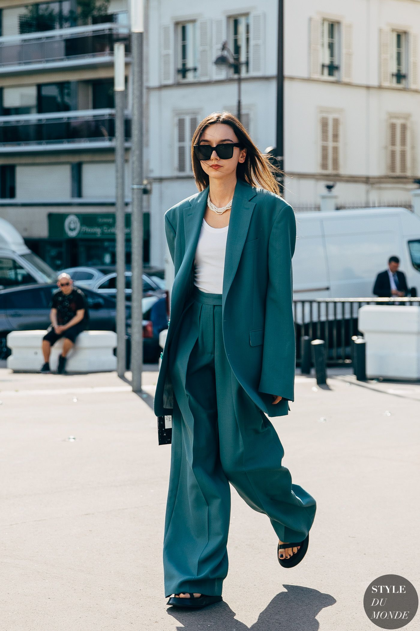 Haute Couture Spring 2019 Street Style: Beatrice Gutu - STYLE DU MONDE | Street Style Street Fashion Photos Beatrice Gutu