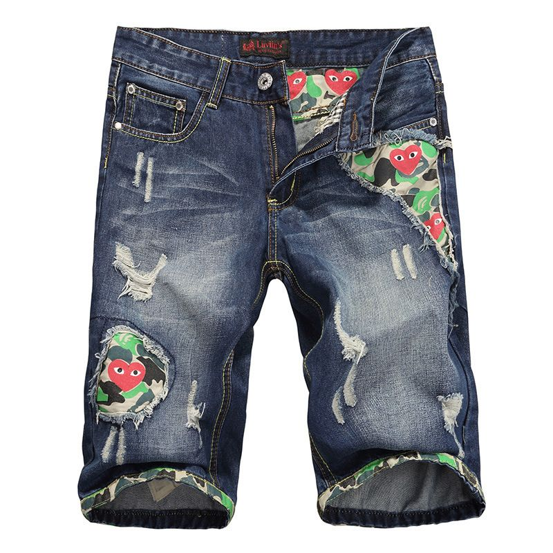 Original Brand Denim Shorts Mens Jeans Brand Designer 2014 Summer Shorts Men Jeans  $17.00
