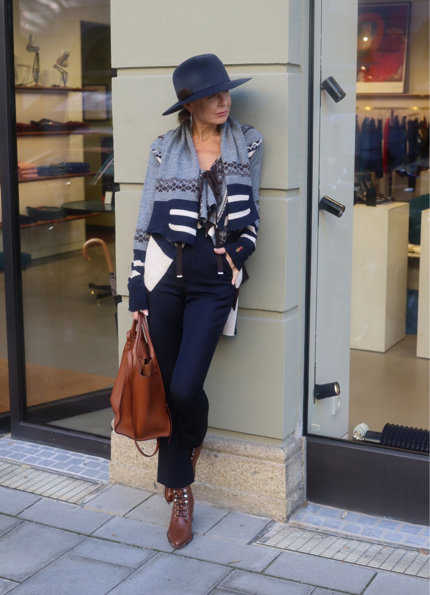 Mode ist Individualität und Authentizität meint Bibi Horst ...